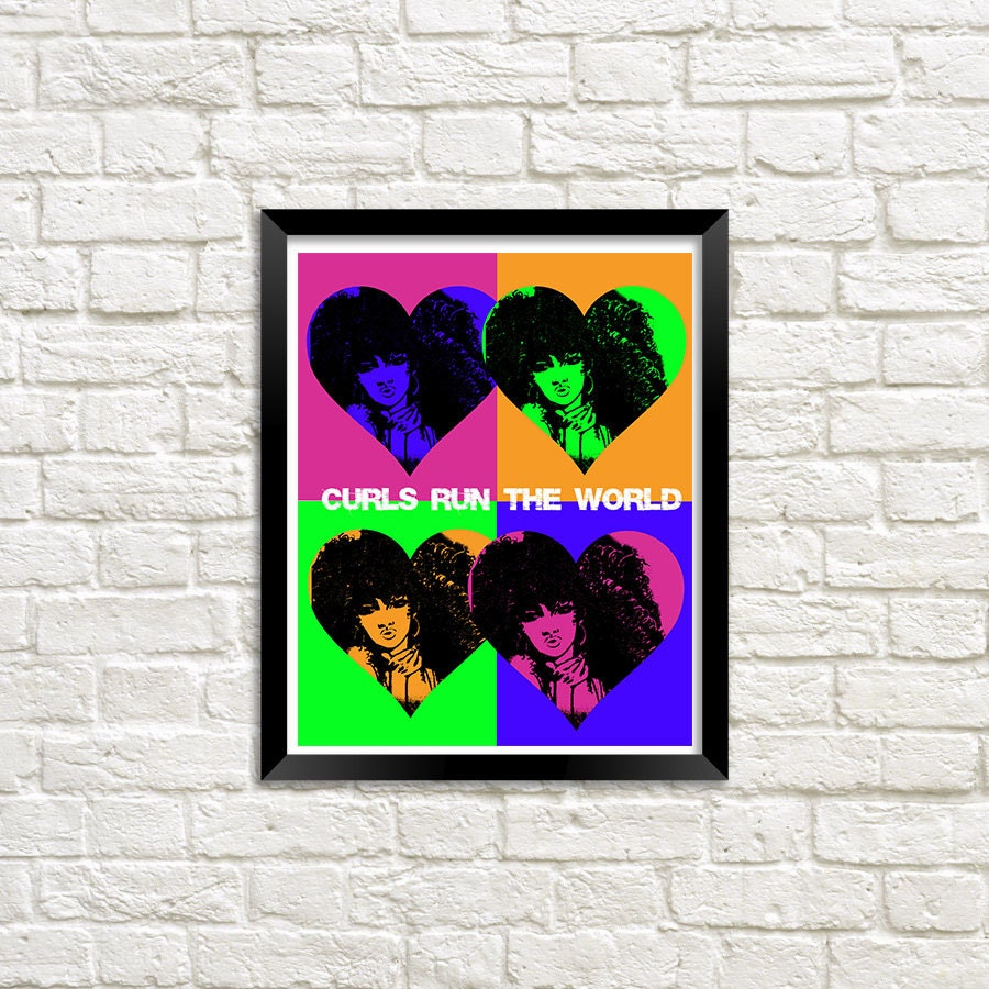 African Pop Art Ethnic American