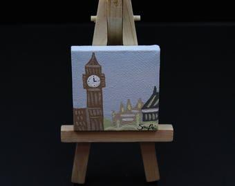 Pintura de miniatura Big Ben