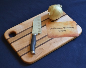 """Medium Wood Cutting Board 14"""" X 10"""""""