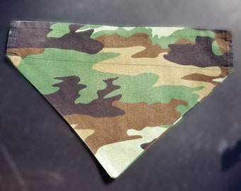 Over the collar bandana