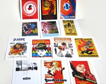 Museum of Modern Art Classic Film Poster Postcards, MoMA Movie Poster Postcards