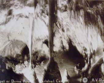 1940's Carisbad Cavern Photos