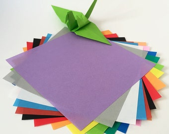 Origami Paper Sheets - Colored Paper Assortment - 80 Sheets