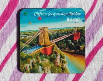 Original Clifton Suspension Bridge Bristol Coaster