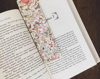 Fabric Bookmark (Sage Floral)