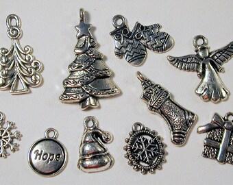 Christmas Charm Collection  10pc. C150