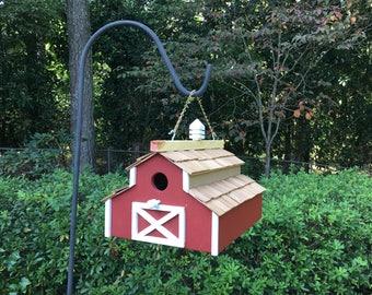Barn Birdhouse - Bird House for the Birds. Unique Birdhouses for the Birds.