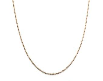 Gouden Ball Chain ketting