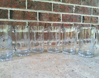 Create your own Etched Beer Mug