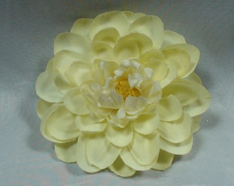 Pale yellow flower etsy pale yellow flower hair clip light yellow hair clip brooch yellow flowers flower hair accessories flower hair clip hair bows flowers mightylinksfo
