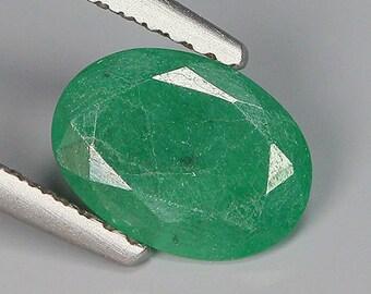1.03 Ct Natural Zambia Green EMERALD