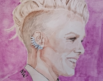 P!nk painting