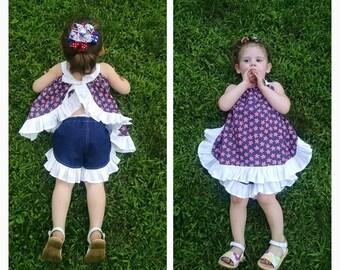 Girls/Baby/Toddler Ruffle Shorts - CUSTOM - Personalize