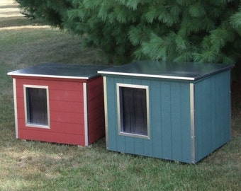 High quality, fully insulated doghouse