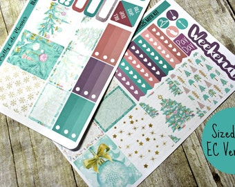 Planner Stickers - Weekly Planner stickers - Erin Condren Life Planner - Happy Planner - Christmas Planner Stickers- Christmas stickers