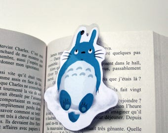 Totoro shaped bookmark