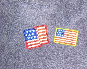 Set of 2 Flag Magnets