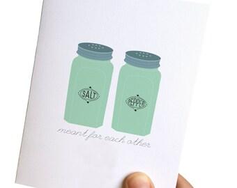 wedding greeting cards, wedding cards congratulations, wedding greetings card, wedding card, retro cards, jadeite salt and pepper card