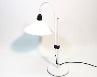 White Light Modern Accent Lamp Lyskaer Expandable Table Lamp, Flying Saucer Desk Light, UFO Lighting
