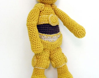 Amigurumi Star Wars C-3PO type