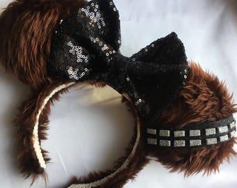 Chewbacca Inspired Ears