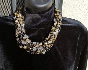 Stunning Joan Rivers Torsade Necklace