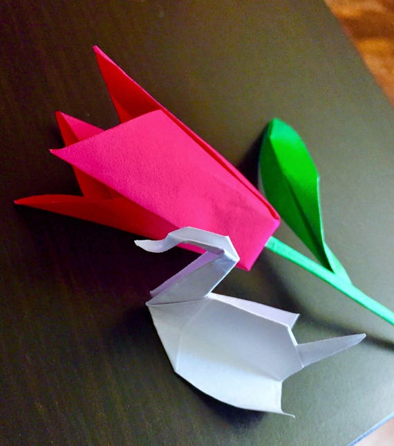 Paper rose paper flower origami rose origami flower paper rose paper flower origami rose origami flower prison break flower origami crane origami swan mightylinksfo