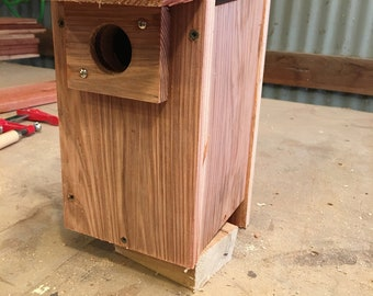 Save the Bluebird Nest Box