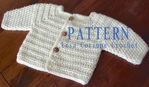 Baby Sweater Pattern Baby Boy Crochet Sweater Patterns Crochet