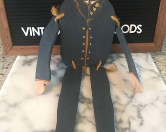 Vintage U.S. Military figurine