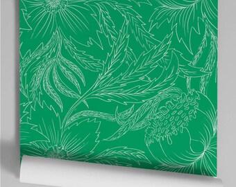 Wallpaper green Will reverse