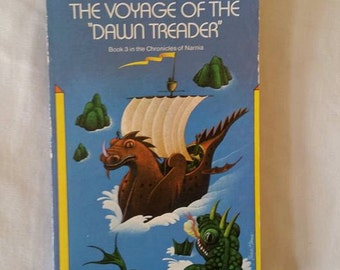 Narnia, Voyage of the Dawn Treader, Paperback book, Chronicles of Narnia Series, C.S. Lewis, Book #3, Children's Classic Fantasy Series