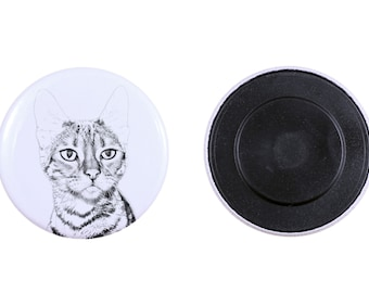Magnet with a cat-  Toyger
