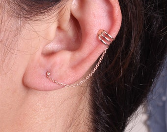 Classic Ear Cuff / Sterling Silver