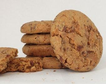 Heath Bar Crunch Cookies fresh baked by MommyMoo