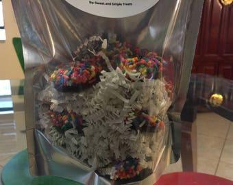 Original sprinkled mini donuts