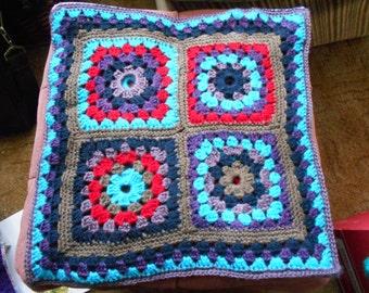 Circus squares cushion