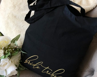 Bridesmaid Tote Bags , Bachelorette Party Tote Bags , Custom Tote Bags , Bridal Party Gift Bags, Wedding Welcome Bags , Wholesale Tote Bags