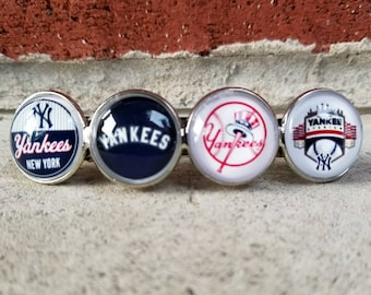 New York Yankees large hair Clip