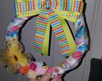 Butterfly Easter wreath ON SALE