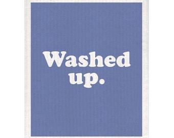 Washed Up Dishcloth