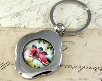 Aanraku Key Ring Kit with Glamour FX Glass. Make something special for the guy in your life.