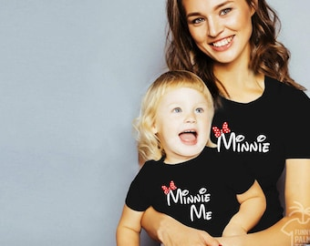 Disney shirts disney family shirts disney family matching shirts family outfits disney vacation minnie shirt minnie mouse shirt minnie me