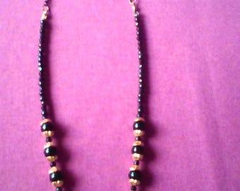 Hat necklace Lola series No. 9