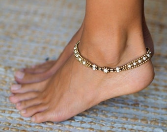 bracelet female turquoise yogo with beads new anklet ankle bracelets fashion sexy products