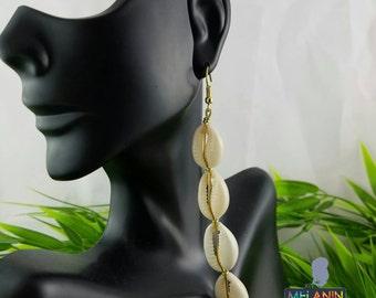Cowrie Shells- Handmade Earrings