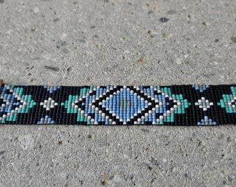 Aztec Beadloom Bracelet