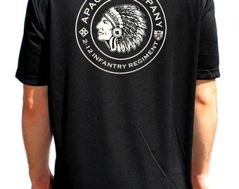 Apache Lethal Gear Black Performance T-Shirt