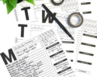 The Weekly Planner Digital Files