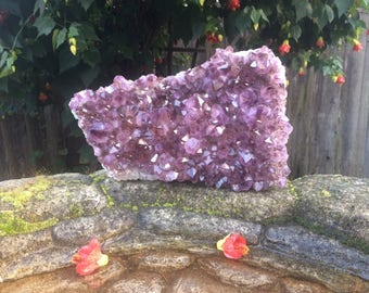 Raw Amethyst Geode Cluster from Brazil - AA Grade Amethyst Cluster